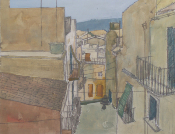 View in Caltagirone